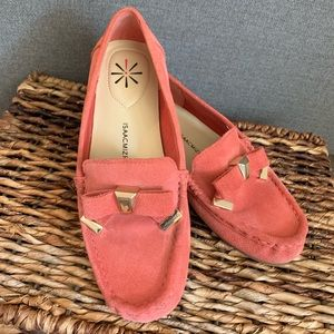 SALE🎄Isaac Mizrahi Pink/Coral Loafers